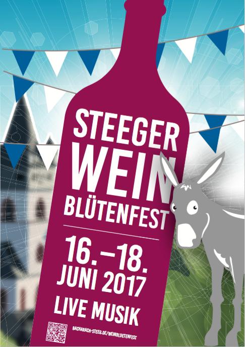 Flyer Steeger Weinblütenfest